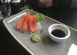 Sashimi van verse zalm